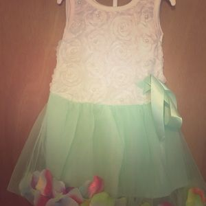 12m flower dress